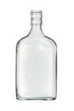 Botella plana Fotos de archivo