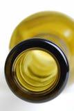 Botella vacía de la vid Imagen de archivo