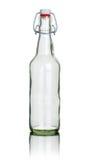 Botella vacía del top del oscilación imagen de archivo
