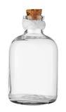 Botella vacía vieja Imágenes de archivo libres de regalías