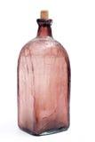 Botella vacía vieja Fotos de archivo