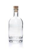 Botella vacía del licor Fotos de archivo