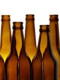 Botellas foto de archivo libre de regalías
