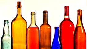 Botellas Foto de archivo