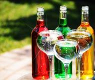 botellas Imagenes de archivo