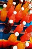 Botellas coloridas Imagenes de archivo