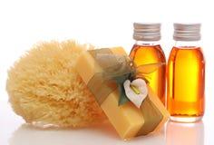 Botellas con petróleos esenciales