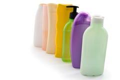 Botellas cosméticas Foto de archivo libre de regalías