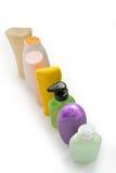 Botellas cosméticas Fotografía de archivo libre de regalías