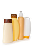 Botellas cosméticas Imagen de archivo