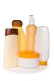 Botellas cosméticas Fotografía de archivo