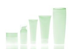 Botellas cosméticas Imagen de archivo libre de regalías