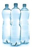 Botellas de agua Imagen de archivo libre de regalías