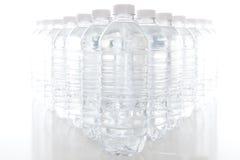 Botellas de agua Fotos de archivo