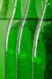 Botellas de agua mineral Imagen de archivo