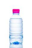 Botellas de agua plásticas Fotografía de archivo libre de regalías