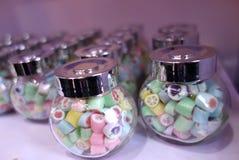 Botellas de caramelos Imagen de archivo