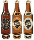 Botellas de cerveza libre illustration