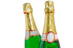 Botellas de Champán Foto de archivo libre de regalías