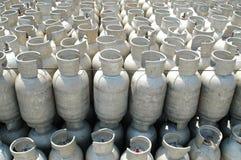 Botellas de gas Imagenes de archivo