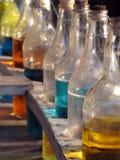 Botellas de la bebida Imagenes de archivo