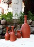 Botellas de la cerámica Fotos de archivo