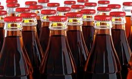 botellas de la cola 3d Imagen de archivo