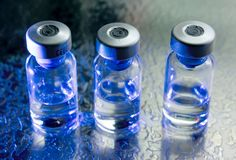 Botellas de la medicina Imagen de archivo libre de regalías