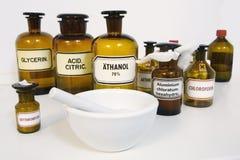 Botellas de la medicina Imagen de archivo
