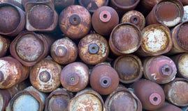 Botellas de la soldadura Fotos de archivo