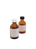 Botellas de medicina Fotos de archivo libres de regalías