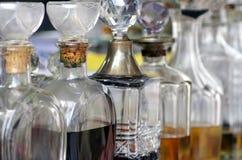 Botellas de perfume Fotografía de archivo libre de regalías