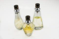 Botellas de perfume bonitas Fotos de archivo