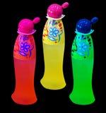 Botellas de perfume clasificadas imagen de archivo