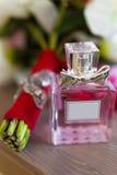 Botellas de perfume de Colonia imágenes de archivo libres de regalías