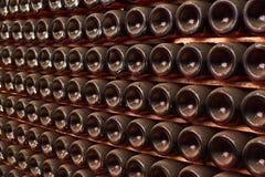 Botellas de vino fotos de archivo libres de regalías