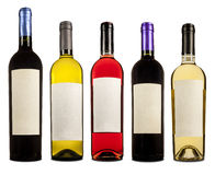 Botellas De Vino Fotografia Royalty Free
