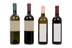Botellas de vino Imagen de archivo