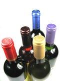 Botellas de vino Imagenes de archivo