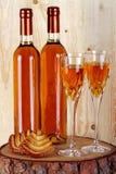 Botellas de vino del passito Imagen de archivo libre de regalías