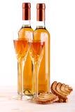 Botellas de vino del passito Imágenes de archivo libres de regalías