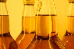 Botellas de whisky Fotos de archivo