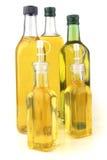 Botellas del aceite de oliva Fotos de archivo libres de regalías