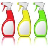 Botellas del aerosol Fotos de archivo