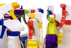 Botellas del aerosol Fotografía de archivo