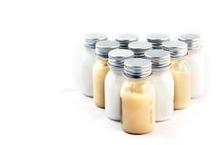 Botellas del champú Fotografía de archivo libre de regalías