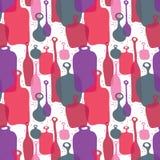 Botellas del color Imagen de archivo