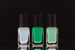 Esmalte de uñas Foto de archivo libre de regalías