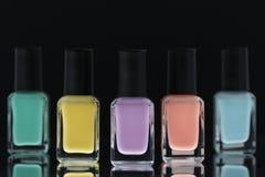 Esmalte de uñas Imagen de archivo
