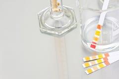 Botellas del laboratorio Fotografía de archivo libre de regalías